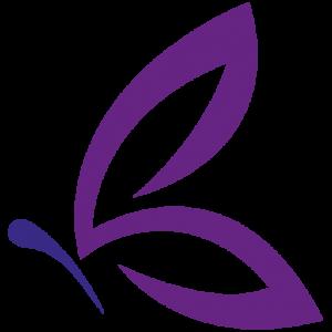 weergave van een vlinder als ons logo